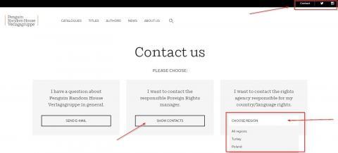 Contact Seite